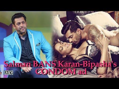 Xxx Mp4 Salman BANS Karan Bipasha S CONDOM Ad During Bigg Boss 3gp Sex