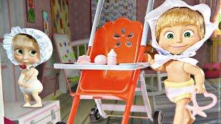 Masha and the Bear / Masza i Niedźwiedź - Simba - Masha in Stroller / Masza w Wózeczku - 109301957