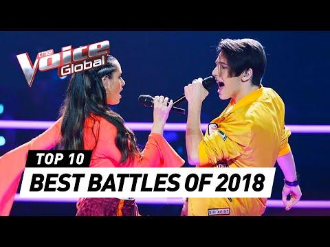 BEST BATTLES in The Voice around the world 2018