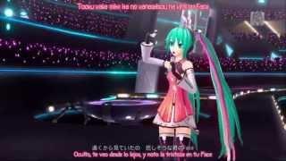 Hatsune Miku - Freely Tomorrow (Project Diva F) sub Romaji y Español