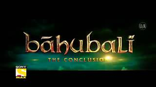 Bahubali 2 - The Conclusion | 8 October 2017 | Sunday | Official Promo | Sony Max
