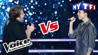 Bulle VS Gianni Bee - « Goodbye My Lover » (James Blunt) | The Voice France 2017 | Battle