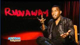 Kanye West Interview at Runaway Film Premiere