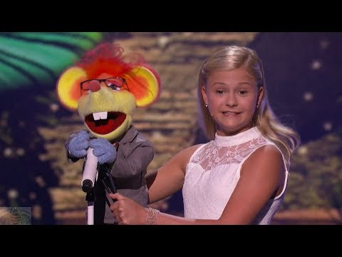 America s Got Talent 2017 Darci Lynne Performance & Comments Live Shows S12E13