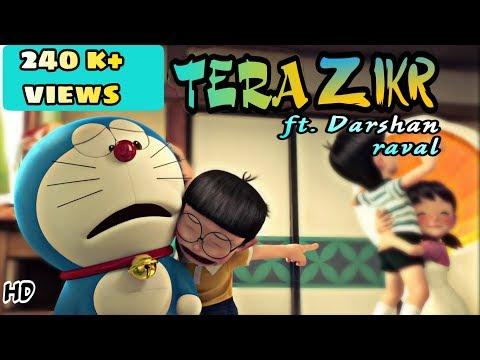 Tera Zikr- Darshan Raval    Nobita & Shizuka    New animated song 2017   