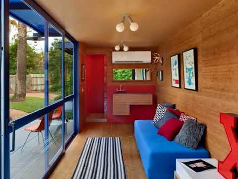 Xxx Mp4 Shipping Container Home Inside Step Inside An Under Construction Shipping Container Tiny Home 3gp Sex