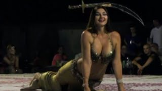 Superb Hot Sexy Arabic Belly Dance