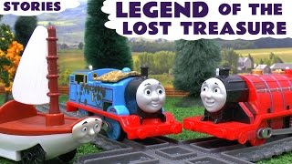 Thomas and Friends Sodor's Legend Of The Lost Treasure Spongebob Play Doh Toy Trains Prank
