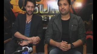 Atif Aslam And Himesh Reshammiya Launch 'Sur-Kshetra'