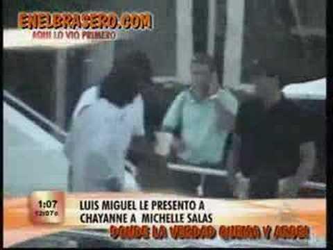 Luis Miguel con Michelle Salas y Chayanne