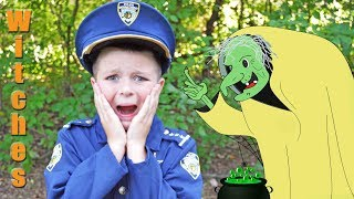 Halloween Kids Video with Silly Scary Witches epic funny hilarious