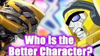 Transformers - Bumblebee vs Hot Shot - Who Is the Better Character?