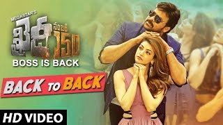 Khaidi No 150 Back To Back Video Songs | Chiranjeevi, Kajal | Rockstar Devi Sri Prasad