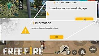 FREE FIRE TE VA A BANEAR POR HACER ÉSTO!!?? • FREE FIRE HA HABLADO!!