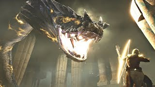 Assassin's Creed Origins - Giant Snake Boss Fight #2