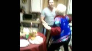 crazy people dancing in the kitchen unedited