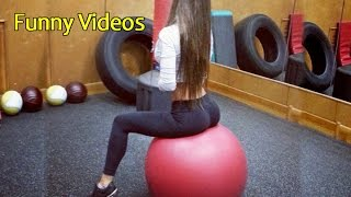 Epic Exercise Ball Fails - Funny Fails - Funny Video