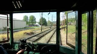 Riding the Trolley at PA Trolley Museum  - Washington PA