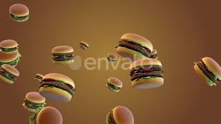 Burgers Background - Download After Effects Templates Project Files