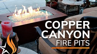 The Best Copper Fire Pit - Copper Canyon Series by StarfireDirect.com