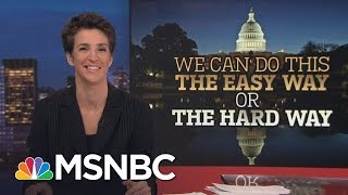 Donald Trump Skimps On Crucial Vetting Of Nominees Ahead Of Hearings | Rachel Maddow | MSNBC