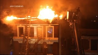 Fast-moving fire leaves families homeless just as Christmas approaches