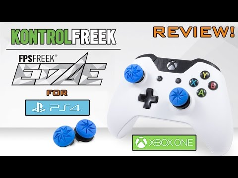 KontrolFreek FPS Freek Edge Review! (Xbox One & PlayStation 4 PS4)