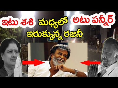 Rajinikanth Politics   Tamil Nadu Politics   Panneerselvam   Sasikala   Tamil Latest News   Taja30