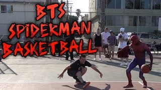 BTS Spiderman Basketball Ep 9. Full Day in Long Beach, California