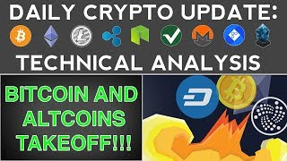 BITCOIN & ALTCOINS TAKEOFF!!! (11/20/17) Daily Crypto Update + Technical Analysis