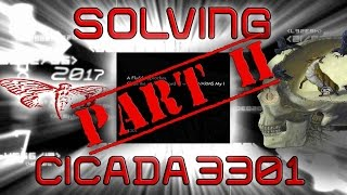 Solving The Cicada 3301 2017 Puzzle | PART 2 | The Internet
