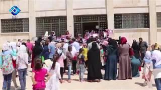 حفل سنوي لتكريم الطلاب المتفوقين تقيمه مدرسة ذات النطاقين بمدينة إعزاز بريف حلب الشمالي