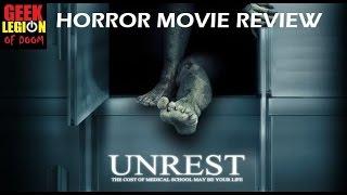 UNREST ( 2006 Corri English  )  Horror Movie review