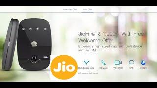 Hindi   Reliance Jio Wireless Wifi Device JioFi2 Unboxing & First Look   Sharmaji Technical
