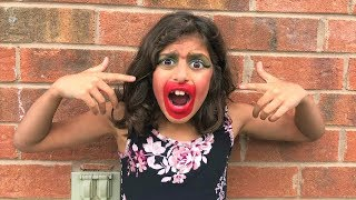 Kids pretend play Color MAKEUP Prank!!! funny video