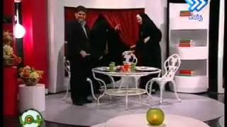Iranian TV channel, broken the chair, Its very funny :)