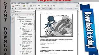 Volkswagen Passat CC 2012 2013 2014 2015 2016 Repair Manual