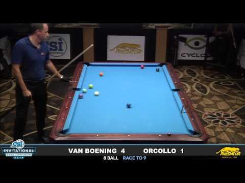 2014 CSI 8 Ball Invitational Van Boening vs Orcollo