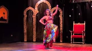 Agnieszka Marczak - Raks Sharki 2nd place - Oriental Dreams Festival