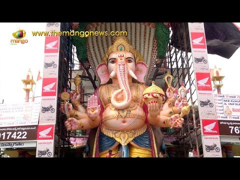 Xxx Mp4 Khairatabad Ganesh Idol 2017 Exclusive Visuals Hyderabad Mango News 3gp Sex