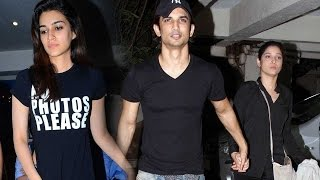 Sushant meets ex girlfriend Ankita for a coffee date!