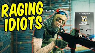 RAGING IDIOTS - Rainbow Six Siege Funny Moments