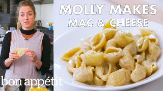 Molly Makes Mac and Cheese | From the Test Kitchen | Bon Appétit