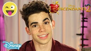 Descendants 2 | Carlos by Cameron Boyce Interview | Official Disney Channel UK