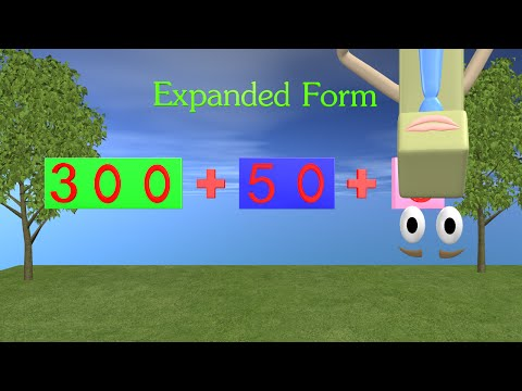 Expanded Form Video - 1st and 2nd Grade Math