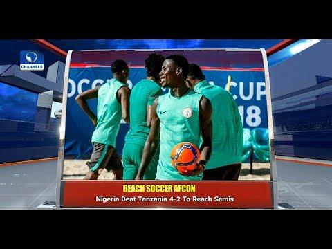 Xxx Mp4 Nigeria Beat Tanzania 4 2 To Reach Beach Soccer AFCON Semis Pt 4 10 12 18 News 10 3gp Sex