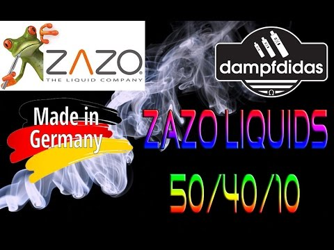watch Zazo Liquids Made in Germany Review Deutsch