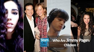 Who Are Jimmy Page's Children ? [3 Daughters And 2 Sons] | Led Zeppelin Guitarist