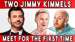 TWO JIMMY KIMMELS MEET FOR THE FIRST TIME | Talking With Myself Ep #2 (FBE)