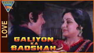 Galiyon Ka Badshah Movie || Raaj Kumar & Hema Malini Nice Conversation ||MithunChakraborty